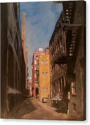 Alley Series 2 Canvas Print by Anita Burgermeister