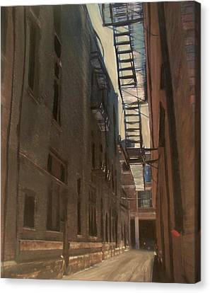 Alley Series 5 Canvas Print by Anita Burgermeister