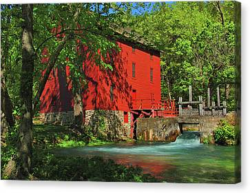 Alley Spring Mill Canvas Print