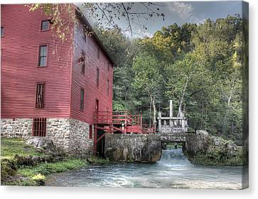 Alley Spring Mill Ozark National Scenic Riverway Canvas Print