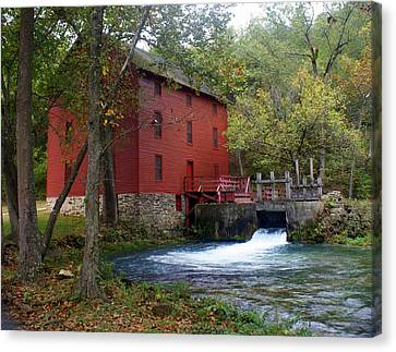 Alley Sprng Mill 3 Canvas Print