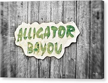 Canon 7d Canvas Print - Alligator Bayou by Scott Pellegrin