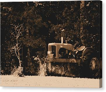 Allis Chalmers Canvas Print