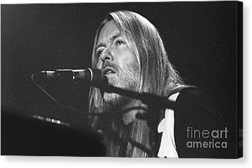 Allman Brothers-gregg-0172-5 Canvas Print by Gary Gingrich Galleries