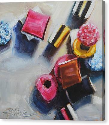 Licorice Canvas Print - Allsorts by Tracy Male