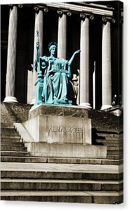 Alma Mater Canvas Print by Marilyn Hunt