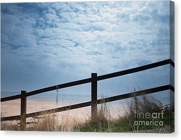 Almost At The Beach Canvas Print by Jan Bickerton
