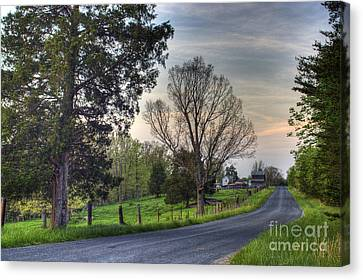 Almost Home Canvas Print by Pete Hellmann