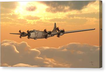 Aviationart Canvas Print - Almost Home by Steven Palmer