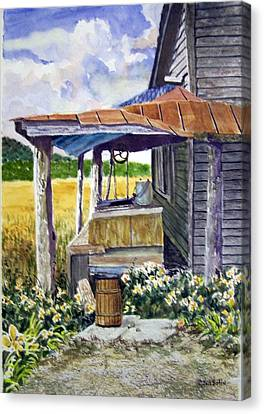 Almost Indoor Plumbing  Sold Canvas Print