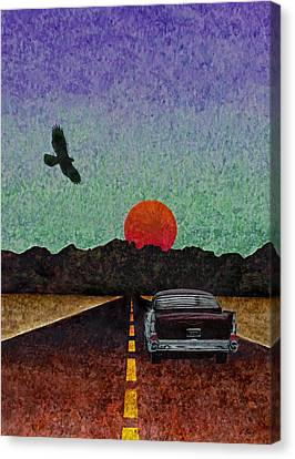 Almost There Canvas Print by Gordon Beck