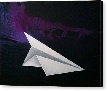 Aloft Canvas Print by Roxanne Green