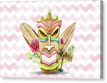 Aloha, Baby Canvas Print by Cadinera