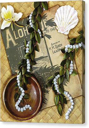 Aloha Oe Canvas Print by Sandra Blazel - Printscapes