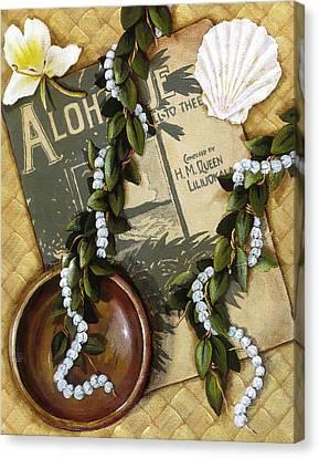 Aloha Oe Canvas Print