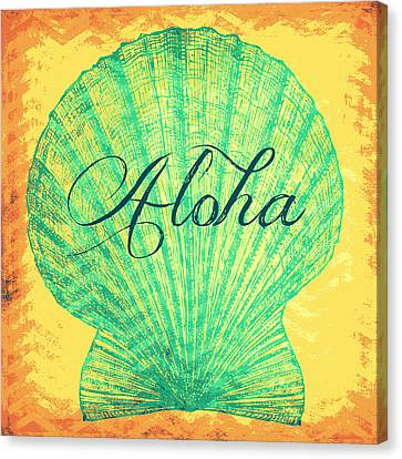 Aloha Shell Canvas Print