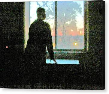 Alone Canvas Print by Guy Ricketts