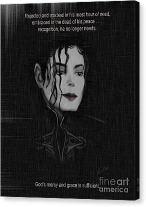 Alone In The Dark II Canvas Print by Reggie Duffie