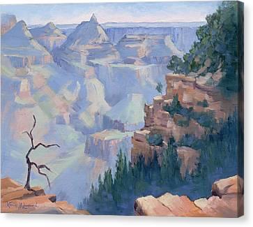 Along Desert Drive, Grand Canyon Canvas Print