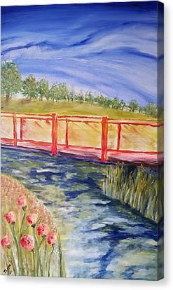 Along The Greenbelt Canvas Print