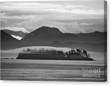 Canvas Print featuring the photograph Along The Inland Passage by Stan and Anne Foster