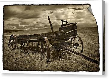 Along The Oregon Trail Canvas Print by John Christopher