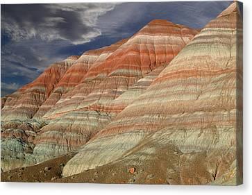 Rimrock Canvas Print - Along The Paria by Kathleen Bishop