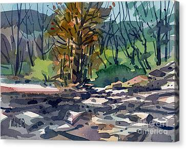 Sonoma County Canvas Print - Along The Russian River by Donald Maier