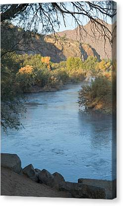 Along The Verde River 2 Canvas Print by Susan Heller