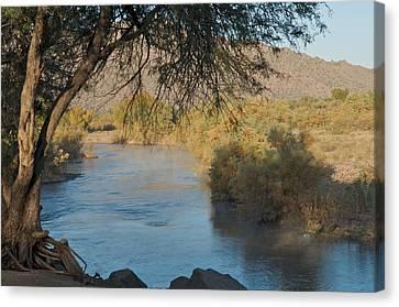 Along The Verde River 9 Canvas Print by Susan Heller