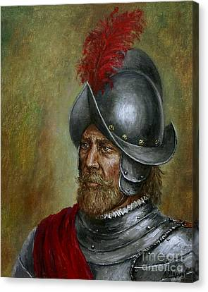Alonso De Alvarado Canvas Print