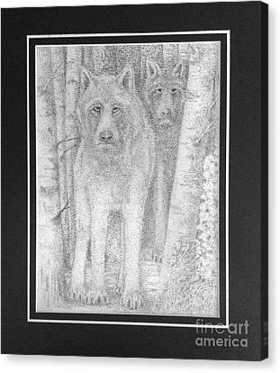 Alpha Male Canvas Print