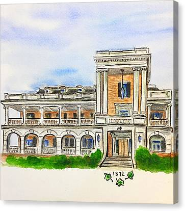 Tuscaloosa Canvas Print - Alpha Phi by Starr Weems