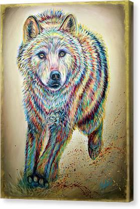 Alpha Canvas Print by Teshia Art