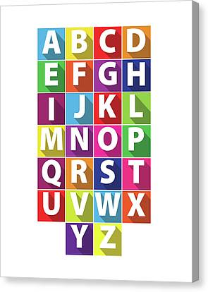 Alphabet Canvas Print by Samuel Whitton
