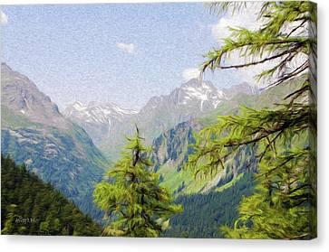 Alpine Altitude Canvas Print by Jeff Kolker