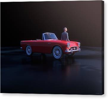 Alpine And Sean Canvas Print by Hangar B Productions