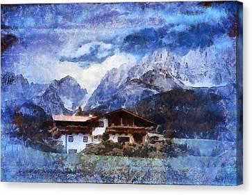 Alpine Bliss Canvas Print by Mario Carini