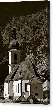 Alpine Church Canvas Print by Frank Tschakert