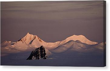 Alpine Glow - Antarctica Canvas Print