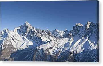 Centre Canvas Print - Alpine Panorama by Pat Speirs