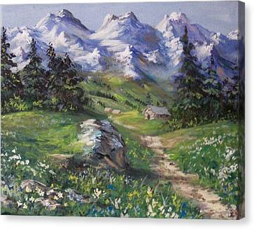 Alpine Splendor Canvas Print