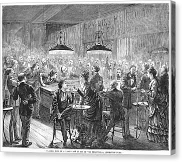 Alsace-lorraine, 1872 Canvas Print by Granger