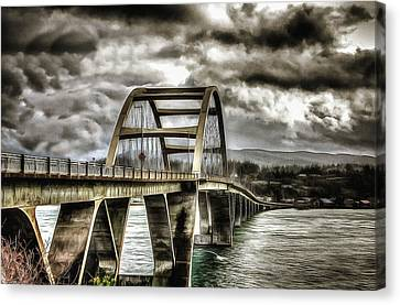 Alsea Bay Bridge Canvas Print