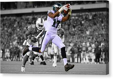 Alshon Jeffery Eagles Super Bowl Canvas Print