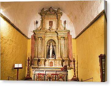 Catherine White Canvas Print - Altar In Santa Catalina Monastery by Jess Kraft