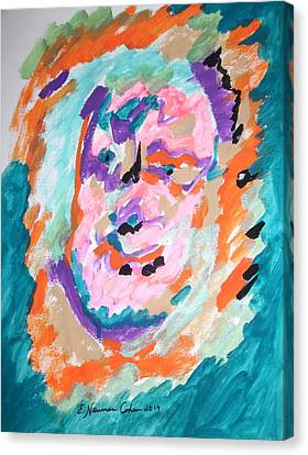Alter Ego Canvas Print by Esther Newman-Cohen