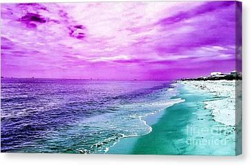 Alternate Beach Escape Canvas Print