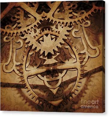 Alternate History Canvas Print by Sandra Gallegos