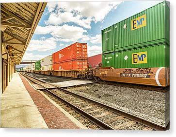 Canvas Print - Altoona Rail Traffic by Eclectic Art Photos